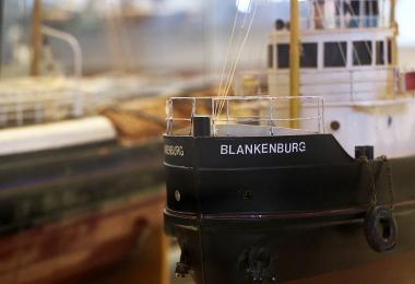 Nationaal Sleepvaart Museum - Model Blankenburg