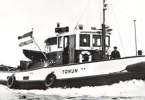 Begingsvaartuig Tonijn 1